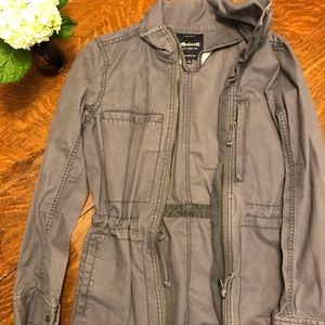 Madewell navy surplus jacket, size small
